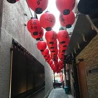 Photo taken at 蜆楽通り by あねもね . on 1/1/2018