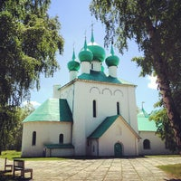 Photo taken at Храм преподобного Сергия Радонежского (Куликово поле) by Elena🍀 K. on 6/15/2013