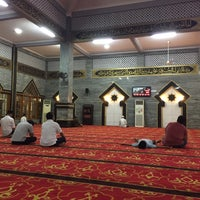 Photo taken at Masjid Raya Al-Musyawarah by Oka M. on 7/1/2017