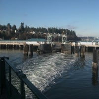 Photo taken at Clinton Ferry Terminal by Arne-Per H. on 1/15/2013