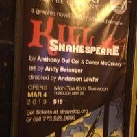 Photo taken at Strawdog Theatre Company by Danny B. on 2/21/2013