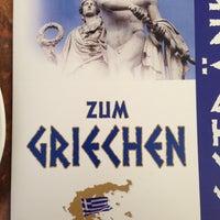 Photo taken at Zum Griechen by Andrea G. on 7/13/2013