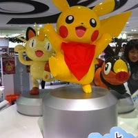 Photo taken at Pokémon Center Osaka by Vira on 11/23/2012