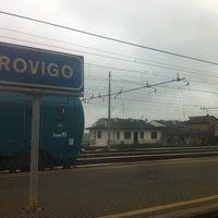Photo taken at Stazione Rovigo by Ciro S. on 12/27/2012