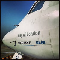 Photo taken at London City Airport (LCY) by Jean-Noël P. on 6/6/2013