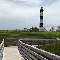 Photo taken at Bodie Island Lighthouse by Linda J. on 6/23/2013