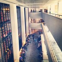 Photo taken at British Library by Nina C. on 5/9/2013