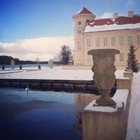 Photo taken at Schloss Rheinsberg by Fritztram on 3/12/2013