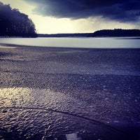 Photo taken at Großer Stechlinsee by Fritztram on 3/12/2013