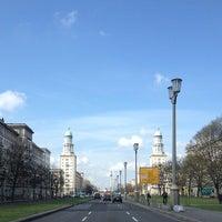 Das Foto wurde bei Frankfurter Tor von Fritztram am 3/26/2014 aufgenommen