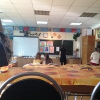 Photo taken at Гимназия №23 by Sam M. on 9/29/2012