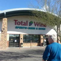Photo taken at Total Wine & More by Laurie J. W. on 2/24/2013