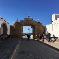 Photo taken at Castillo de San Sebastián by Abraham V. on 12/7/2017
