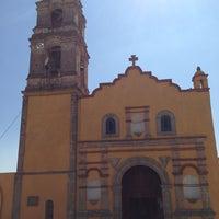 Photo taken at Parroquia de Santa María Magdalena, Cahuacán by Juan V. on 2/17/2013