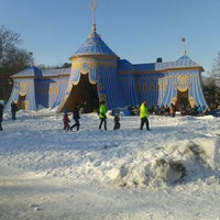 Photo taken at Hagaparken by Олег on 2/24/2013