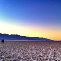Photo taken at Badwater Basin by Zach B. on 1/20/2013