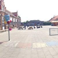 Photo taken at stedelijk onderwijs Brugge-Noord, afdeling Lissewege - Ter Poorten by Nienke H. on 5/25/2014
