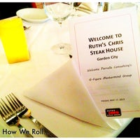 Photo taken at Ruth's Chris Steak House by Patrick C. on 5/17/2013
