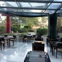 Photo taken at Hilton Garden Inn Bari Hotel by Adnan M. on 11/13/2015