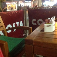 Photo taken at Costa Coffee by Enas L. on 5/17/2013