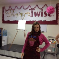Photo taken at Painting with a Twist by Holly B. on 12/24/2013