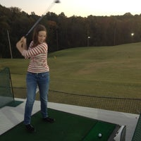 Photo taken at Leatherman Golf Learning Center by Holly B. on 10/19/2012
