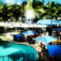 Photo taken at Clevelander South Beach Hotel and Bar by Yesenia G. on 11/18/2012