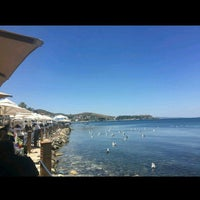 Photo taken at Urla Beach Clup by Melek A. on 6/19/2016
