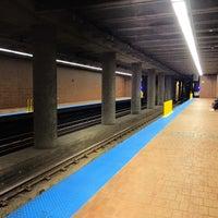 Photo taken at NFTA Metro Rail Allen/Medical Campus Station by Todd S. on 11/15/2013