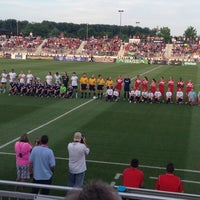 Photo taken at Maryland SoccerPlex by J-J M. on 8/10/2013