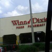 Photo taken at Winn-Dixie by Kenneth G. on 6/9/2013
