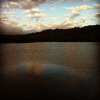 Photo taken at Lake Ilsanjo by Dave B. on 12/24/2012