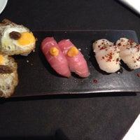 Photo taken at Nokori Sushi Bar by Cristina G. on 12/21/2014