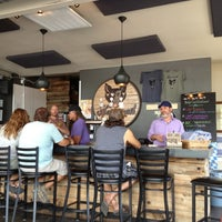 Photo taken at Hogshead Brewery by Michael B. on 7/26/2013
