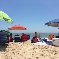 Photo taken at Ocean City Beach by Caleb F. on 7/5/2013