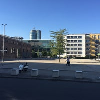 Photo taken at Rainer-Werner-Fassbinder-Platz by Ludwig P. on 8/27/2016