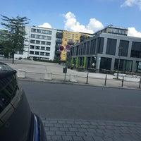 Photo taken at Rainer-Werner-Fassbinder-Platz by Ludwig P. on 9/11/2016