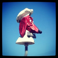 Photo taken at Doggie Diner Head by Michael S. on 9/22/2012