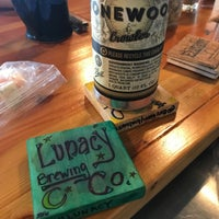 Photo taken at Lunacy Brewing Company by Ricky .. on 4/27/2017