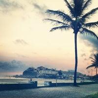 Photo taken at Praia do Sonho by Carlos A. on 12/25/2012