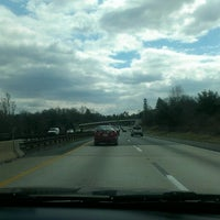 Photo taken at Interstate 476 at Exit 3 by jermaine g. on 3/29/2013