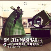 Photo taken at SM City Masinag by GAB on 5/5/2013