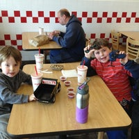 Photo taken at Five Guys by Jason D. on 12/15/2012