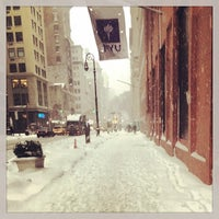 Photo taken at New York University by Jessica W. on 2/13/2014