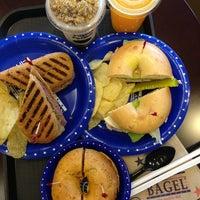 Photo taken at the great American bagel by Tatzkieroll on 8/16/2013