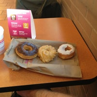 Photo taken at Dunkin' Donuts by Zac C. on 1/19/2013