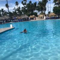 Photo taken at Pool Iberostar Punta Cana & Dominicana by Rodrigo S. on 1/22/2018