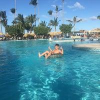 Photo taken at Pool Iberostar Punta Cana & Dominicana by Rodrigo S. on 1/23/2018