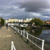 Photo taken at Brentford Dock by Bob O. on 10/29/2012