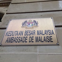 Photo taken at Embassy Of Malaysia by Juliana Ayu Y. on 12/12/2015